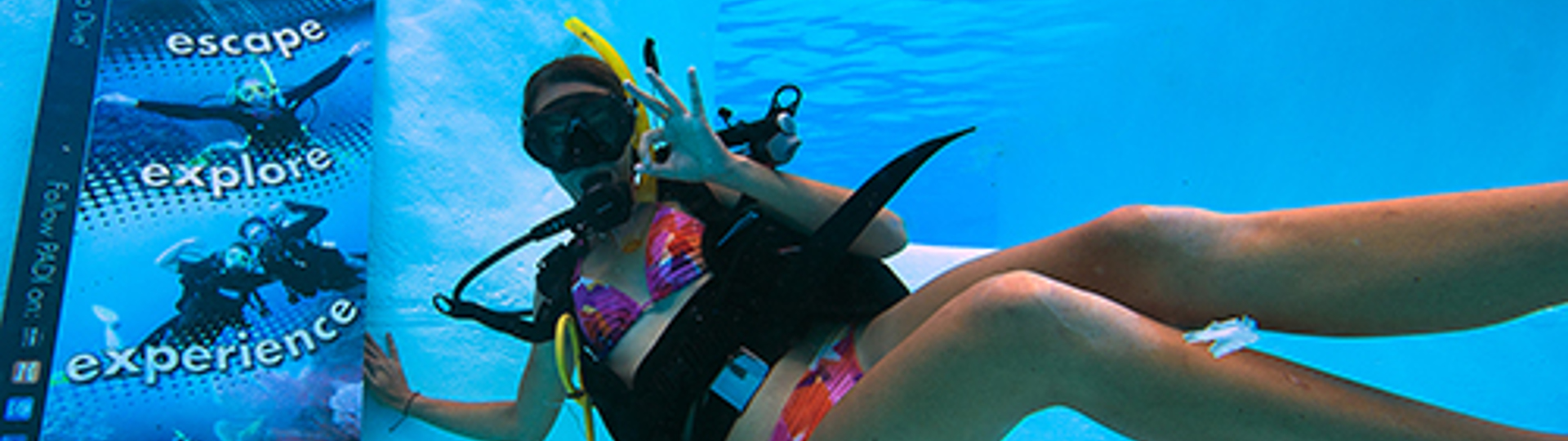 PADI learn to dive with Explore Group in the Whitsundays